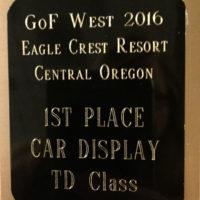 Trophy for TD